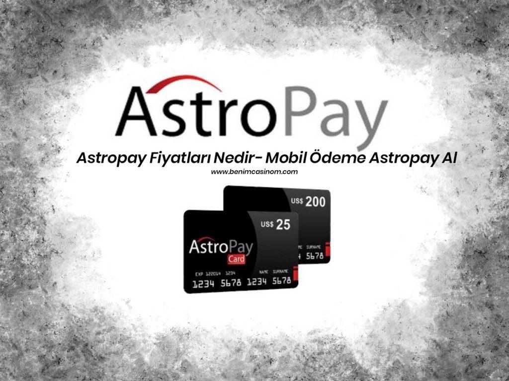 Mobil Ödeme Astropay Al